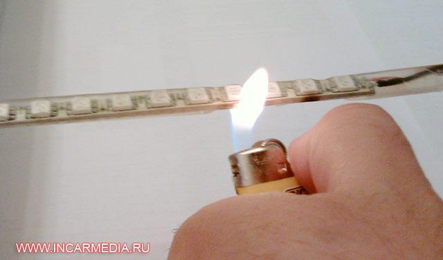 Светодиодная лента в трубке своими руками 82